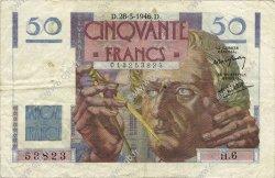 50 Francs LE VERRIER FRANCE  1946 F.20.02 TTB