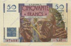 50 Francs LE VERRIER FRANCE  1946 F.20.06 SPL+