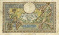 100 Francs LUC OLIVIER MERSON sans LOM FRANCE  1912 F.23.04 pr.TB