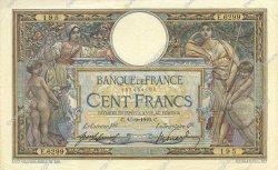 100 Francs LUC OLIVIER MERSON sans LOM FRANCE  1919 F.23.11 TTB+