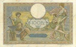 100 Francs LUC OLIVIER MERSON grands cartouches FRANCE  1924 F.24.02 TB à TTB
