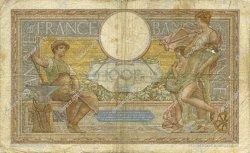 100 Francs LUC OLIVIER MERSON type modifié FRANCE  1937 F.25.02 B