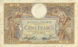 100 Francs LUC OLIVIER MERSON type modifié FRANCE  1937 F.25.03 TB+