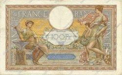 100 Francs LUC OLIVIER MERSON type modifié FRANCE  1938 F.25.09 pr.TTB