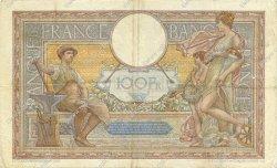 100 Francs LUC OLIVIER MERSON type modifié FRANCE  1938 F.25.32 TB+