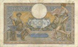 100 Francs LUC OLIVIER MERSON type modifié FRANCE  1939 F.25.45 TB
