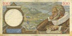 100 Francs SULLY FRANCE  1939 F.26.09 TB