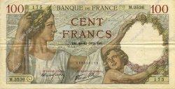 100 Francs SULLY FRANCE  1939 F.26.12 TTB