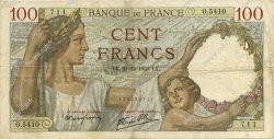 100 Francs SULLY FRANCE  1939 F.26.18 TB+