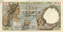 100 Francs SULLY FRANCE  1939 F.26.18 pr.SUP