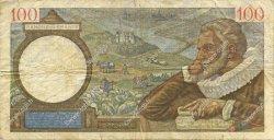 100 Francs SULLY FRANCE  1940 F.26.20 B+