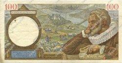 100 Francs SULLY FRANCE  1940 F.26.21 TTB