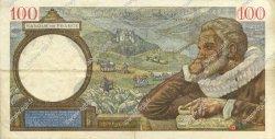 100 Francs SULLY FRANCE  1940 F.26.22 TTB+