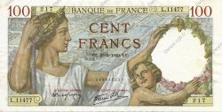 100 Francs SULLY FRANCE  1940 F.26.30 SUP+