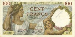 100 Francs SULLY FRANCE  1940 F.26.31 pr.SUP