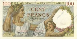 100 Francs SULLY FRANCE  1940 F.26.32 pr.NEUF