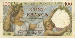 100 Francs SULLY FRANCE  1941 F.26.47 TTB+