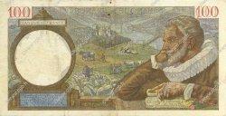100 Francs SULLY FRANCE  1941 F.26.53 TTB
