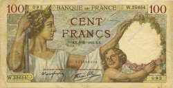 100 Francs SULLY FRANCE  1941 F.26.60 TB+