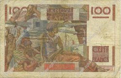 100 Francs JEUNE PAYSAN FRANCE  1946 F.28.07 pr.TB
