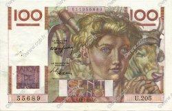 100 Francs JEUNE PAYSAN FRANCE  1947 F.28.15 SUP