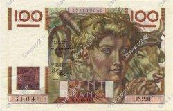 100 Francs JEUNE PAYSAN FRANCE  1948 F.28.17 SPL