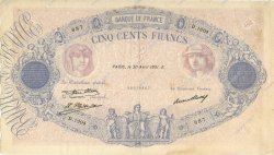 500 Francs BLEU ET ROSE FRANCE  1931 F.30.34 TTB