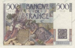 500 Francs CHATEAUBRIAND FRANCE  1945 F.34.02 pr.NEUF
