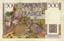 500 Francs CHATEAUBRIAND FRANCE  1947 F.34.07 TB+