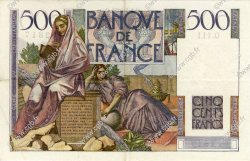 500 Francs CHATEAUBRIAND FRANCE  1952 F.34.09 pr.SUP