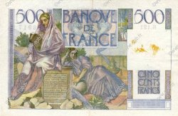 500 Francs CHATEAUBRIAND FRANCE  1952 F.34.10 TTB
