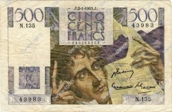 500 Francs CHATEAUBRIAND FRANCE  1953 F.34.11 TB