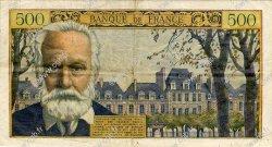 500 Francs VICTOR HUGO FRANCE  1954 F.35.02 pr.TTB