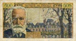 500 Francs VICTOR HUGO FRANCE  1955 F.35.04 TB