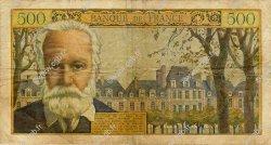 500 Francs VICTOR HUGO FRANCE  1958 F.35.11 B+