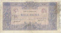 1000 Francs BLEU ET ROSE FRANCE  1910 F.36.24 B