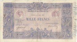 1000 Francs BLEU ET ROSE FRANCE  1917 F.36.31 pr.TB