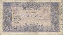1000 Francs BLEU ET ROSE FRANCE  1919 F.36.34 B