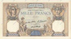 1000 Francs CÉRÈS ET MERCURE FRANCE  1932 F.37.07 TTB+