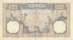 1000 Francs CÉRÈS ET MERCURE type modifié FRANCE  1939 F.38.33 TTB+