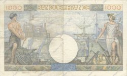 1000 Francs COMMERCE ET INDUSTRIE FRANCE  1941 F.39.04 TB+