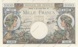 1000 Francs COMMERCE ET INDUSTRIE FRANCE  1944 F.39.12 pr.NEUF