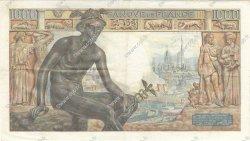 1000 Francs DÉESSE DÉMÉTER FRANCE  1942 F.40.08 pr.SUP