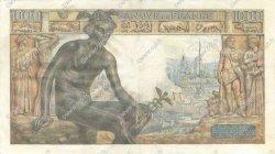 1000 Francs DÉESSE DÉMÉTER FRANCE  1942 F.40.11 SUP