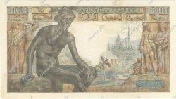 1000 Francs DÉESSE DÉMÉTER FRANCE  1943 F.40.23 SUP