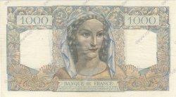1000 Francs MINERVE ET HERCULE FRANCE  1945 F.41.07 SUP+