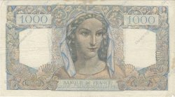 1000 Francs MINERVE ET HERCULE FRANCE  1945 F.41.08 TTB+
