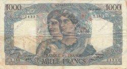 1000 Francs MINERVE ET HERCULE FRANCE  1945 F.41.09 TB