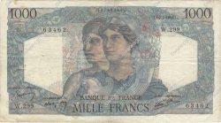 1000 Francs MINERVE ET HERCULE FRANCE  1946 F.41.15 TB