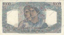 1000 Francs MINERVE ET HERCULE FRANCE  1948 F.41.19 pr.SUP